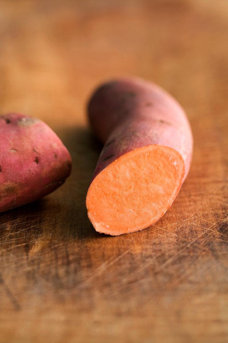 'Red sweet potato' (potato variety)