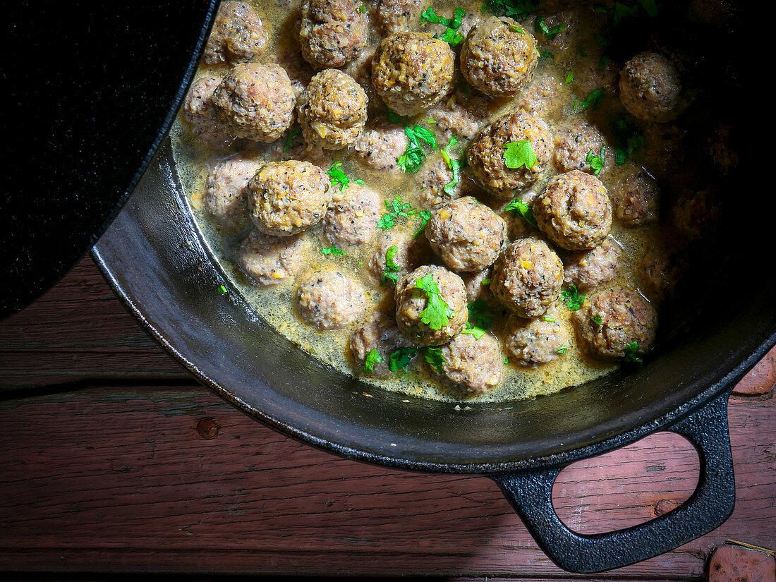 Afghan meatballs