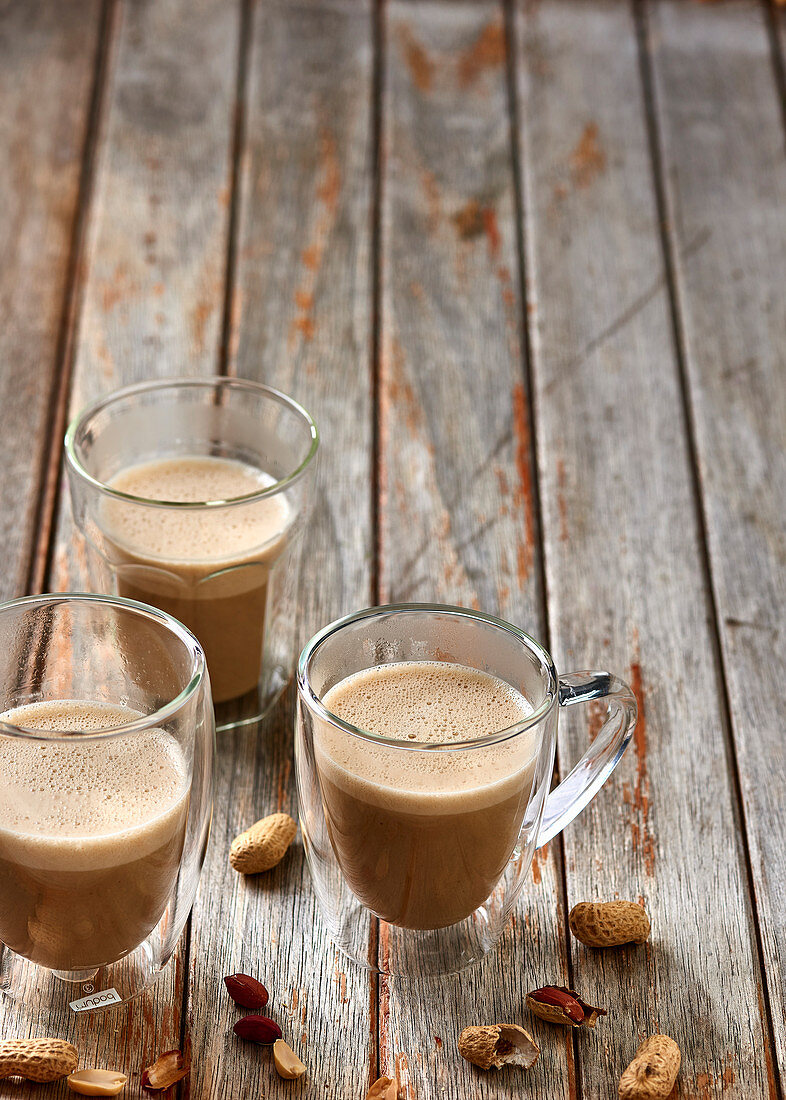 Peanut butter vanilla latte