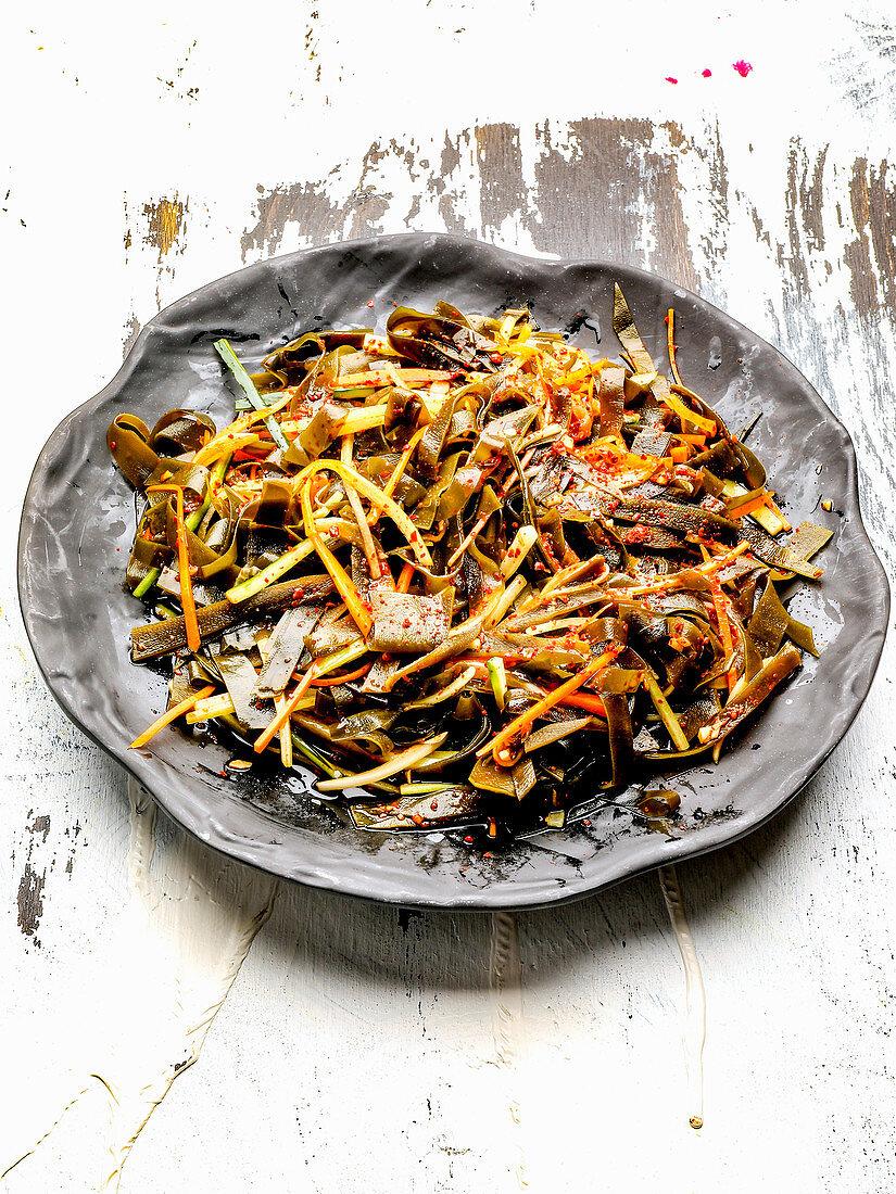 Korean seaweed salad