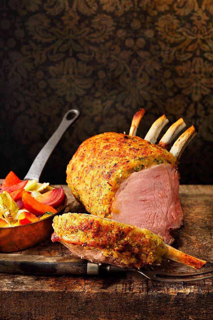 Rack of Ibérico pork
