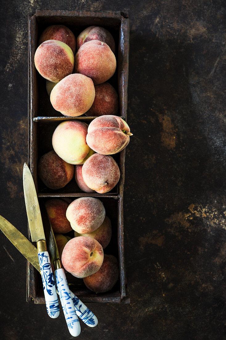 Small Franconian peaches