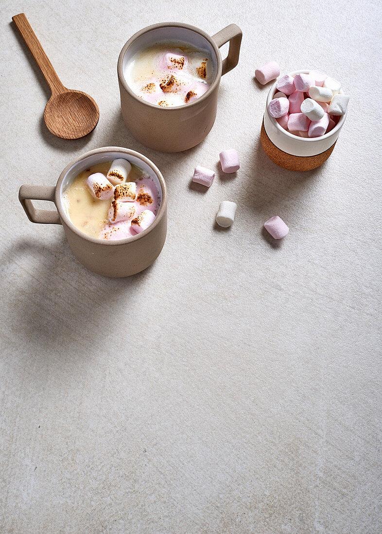 Amarula-spiked white chocolate