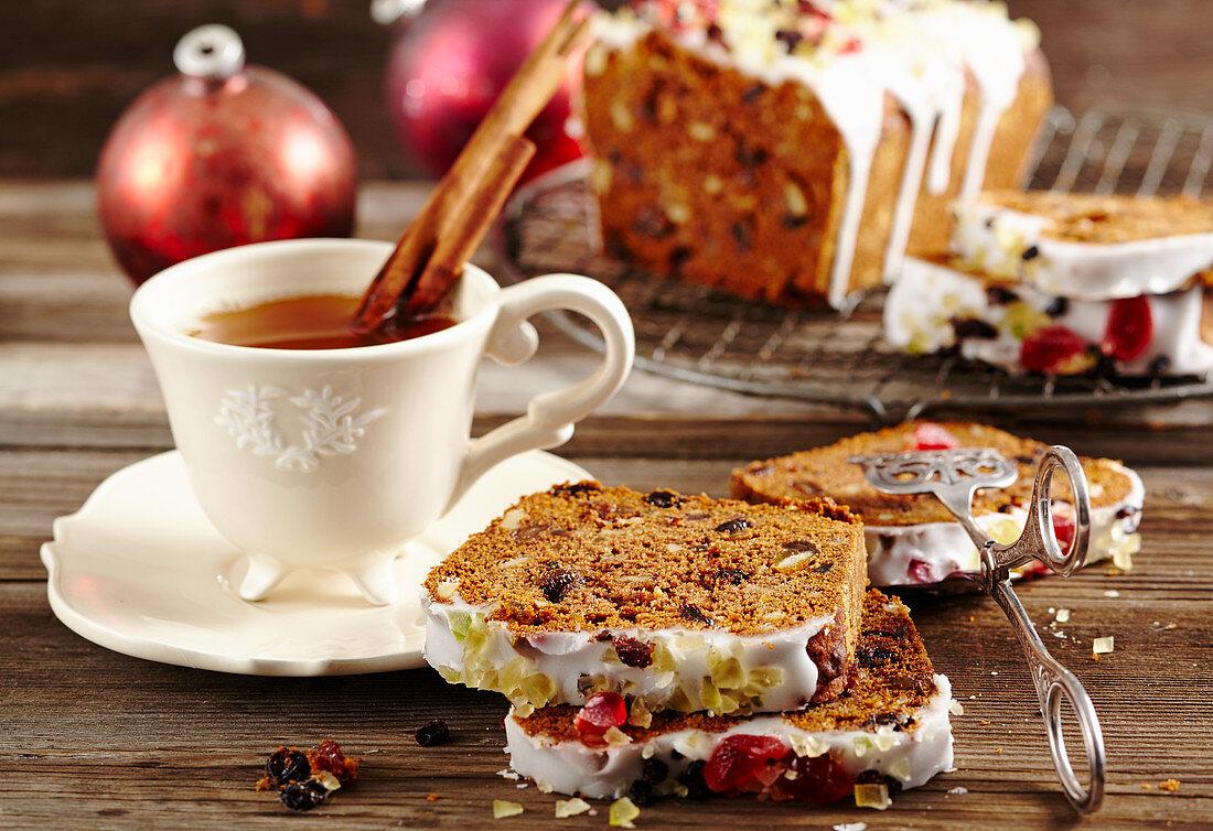 Medivnyk (Christmas honey cake, Russia)