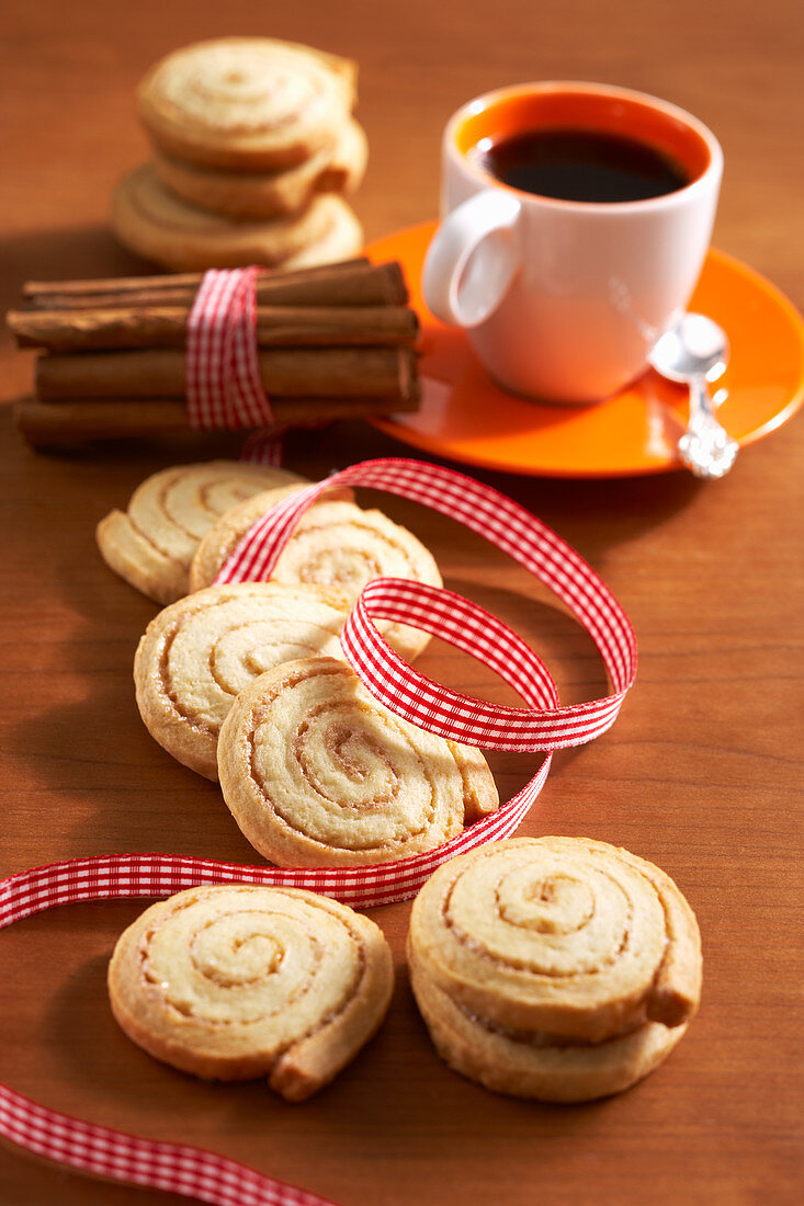 Christmas cinnamon rolls