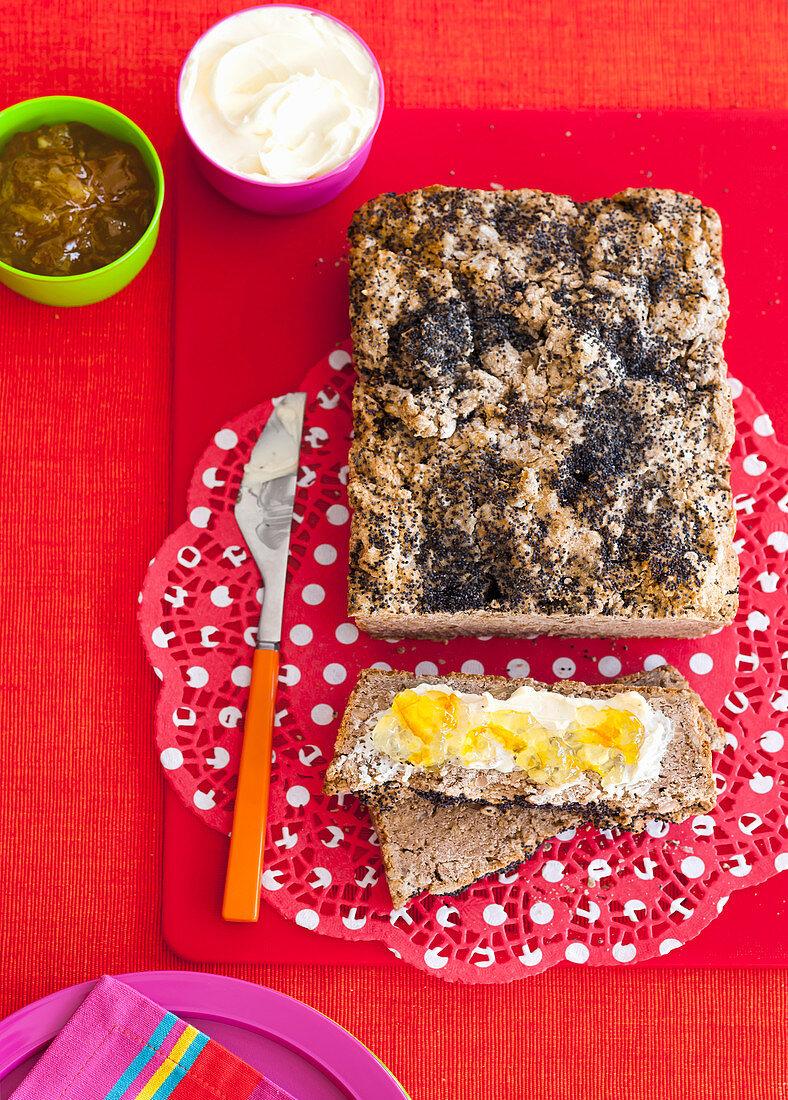Gluten-free Poppy Seed Loaf