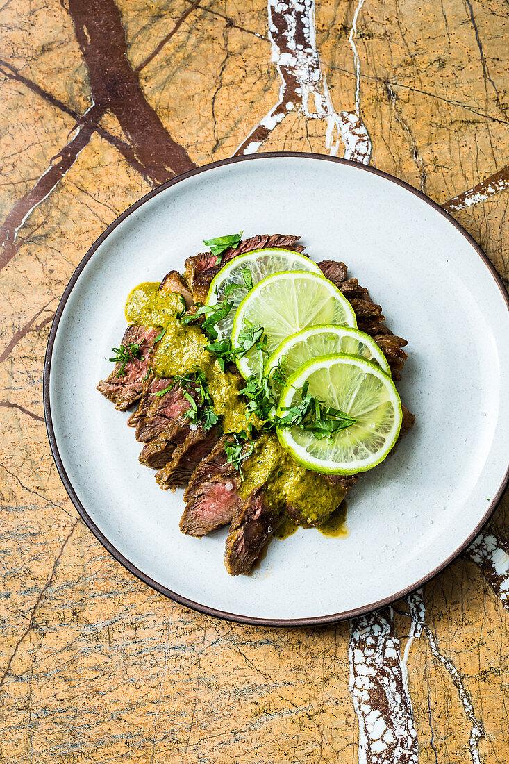 Mexican carne asada