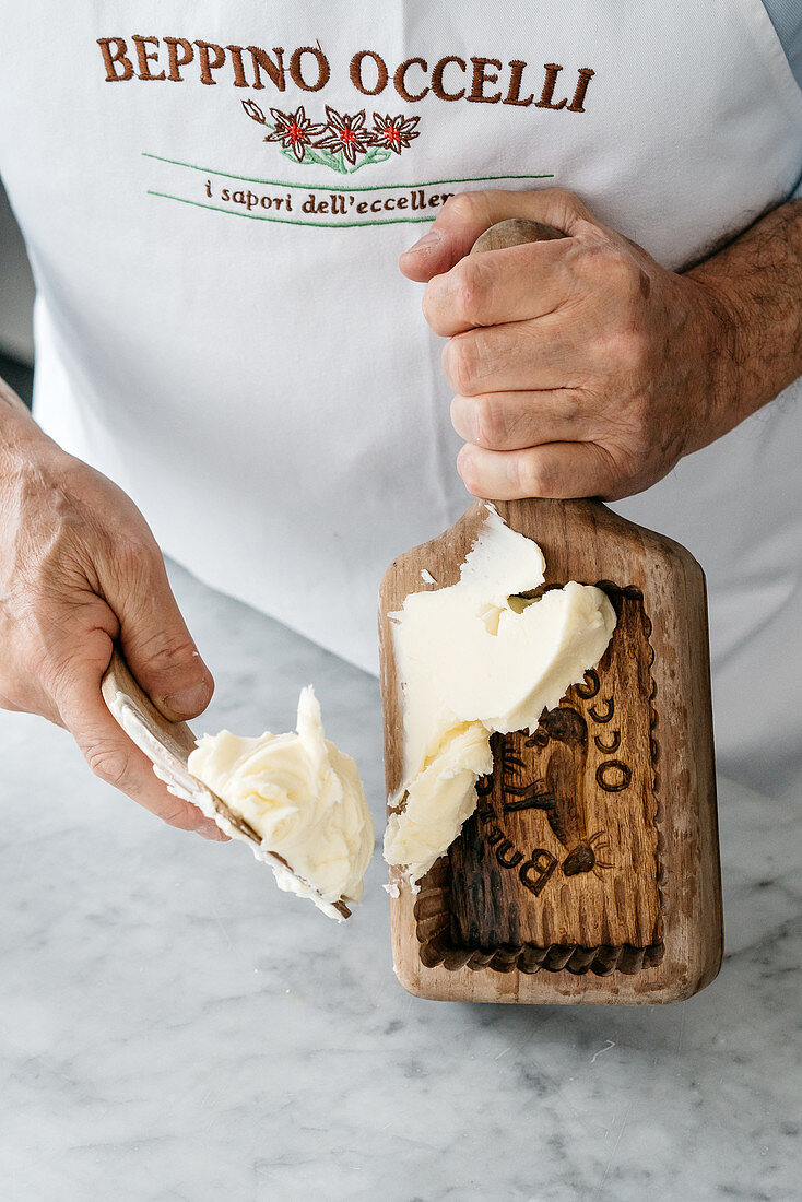 Burro Occelli (sweet butter made by Beppino Occelli, Italy)
