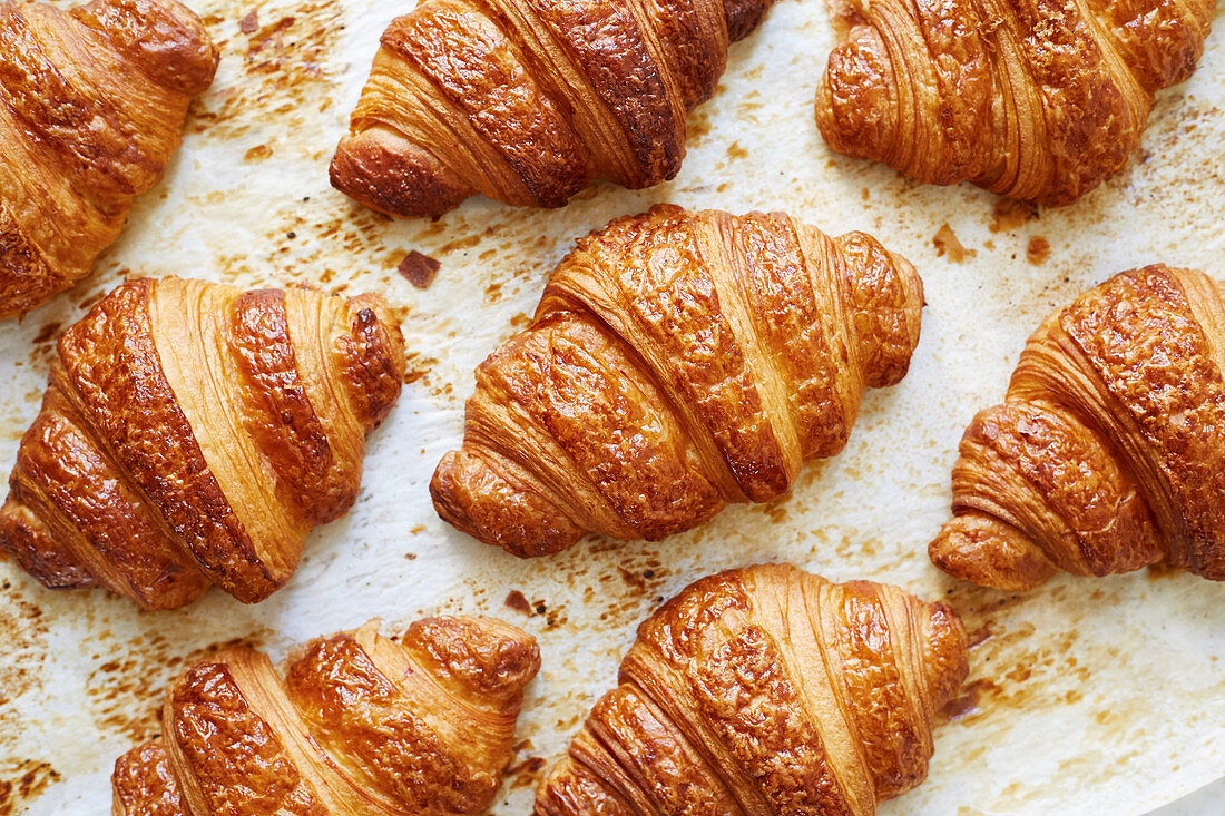 Croissants (filling the frame)