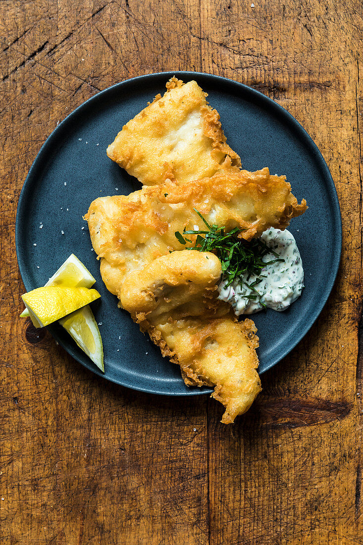 Beer-battered fish from New York