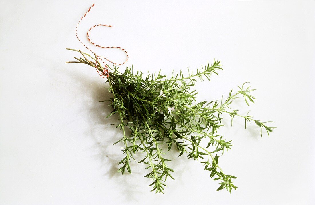 A Bunch of Savory Tied with String