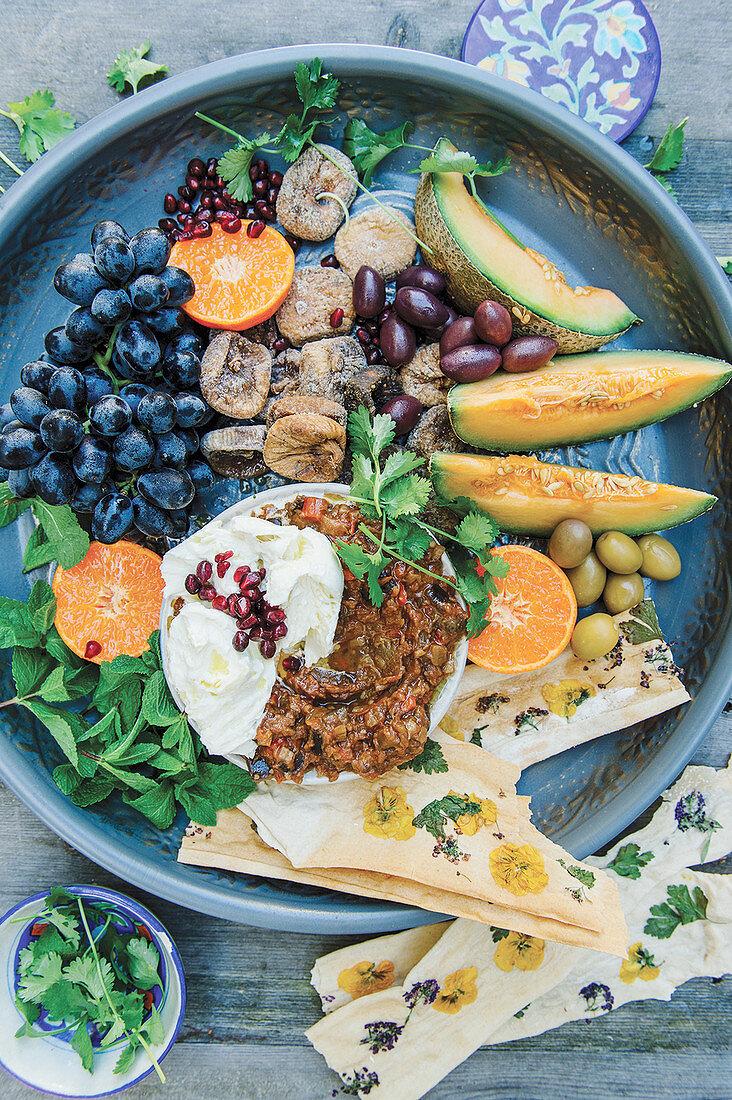 Zaalouk (Aubergine salad, Morocco)