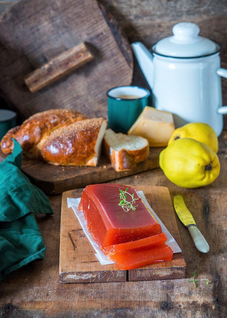 Quince marmalade