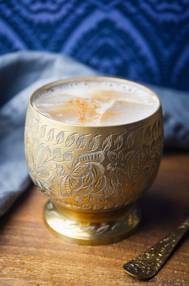 Pumpkin spice latte (coffee speciality, USA)