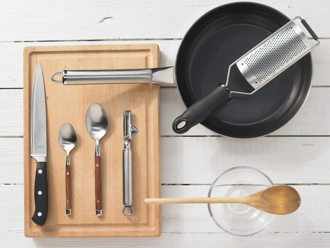 Kitchen utensils for preparing beef