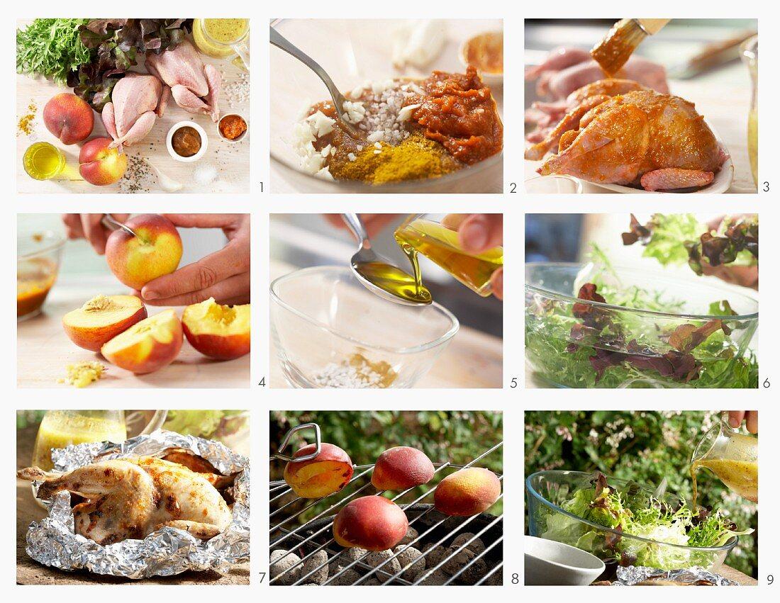 How to make tamarind quail