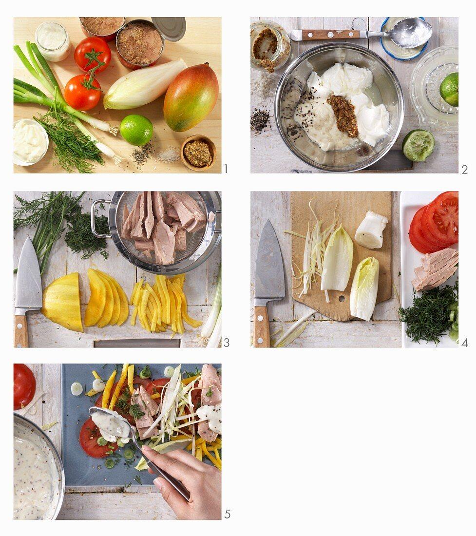 How to make a tuna salad