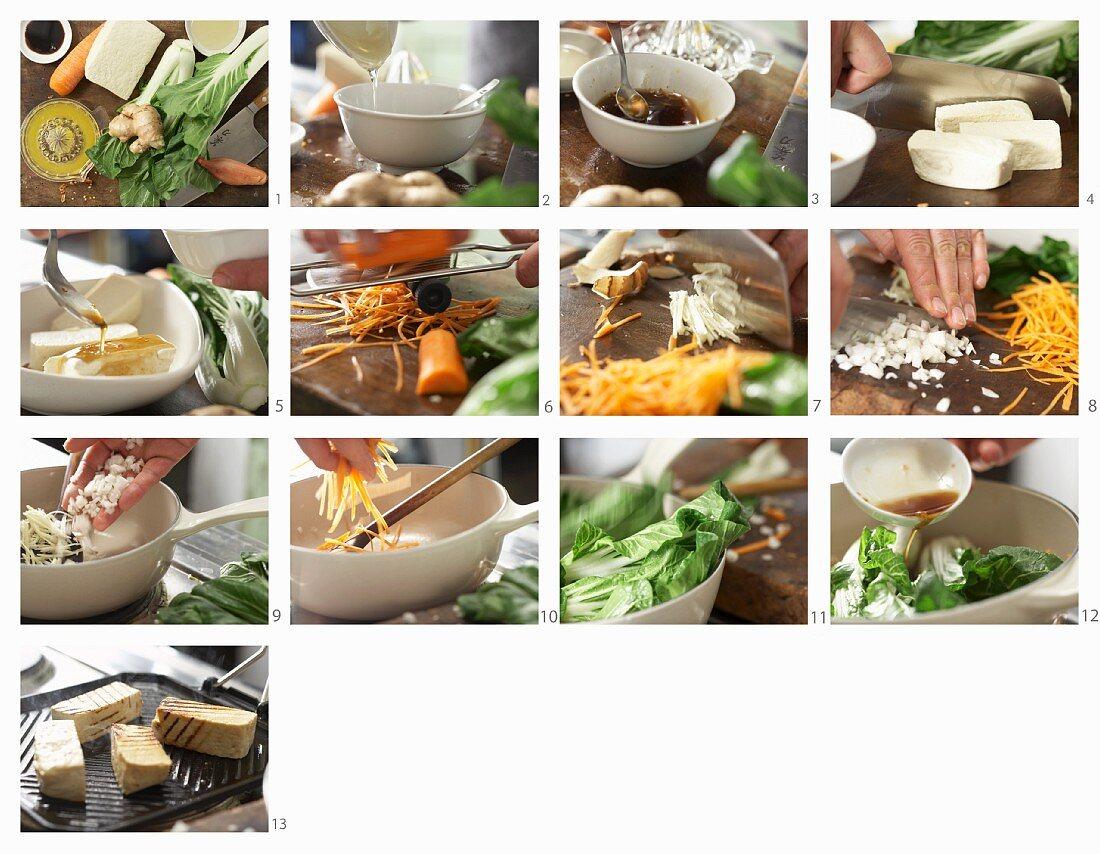 How to make grilled tofu