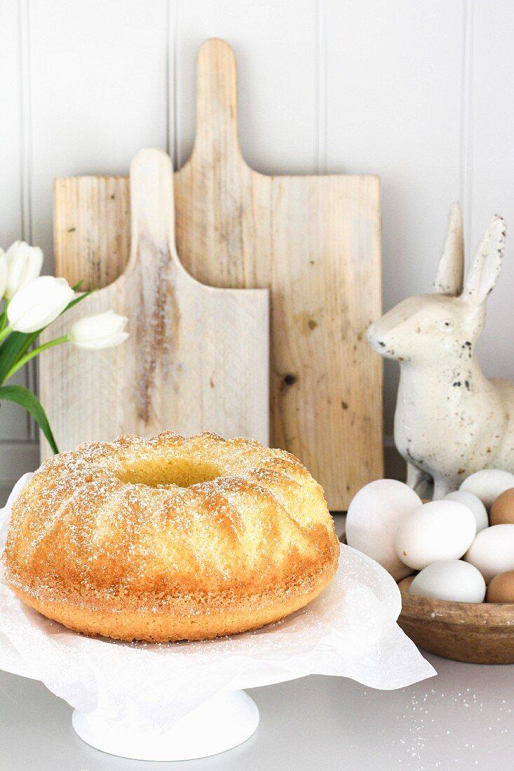 Eierlikörkuchen zu Ostern