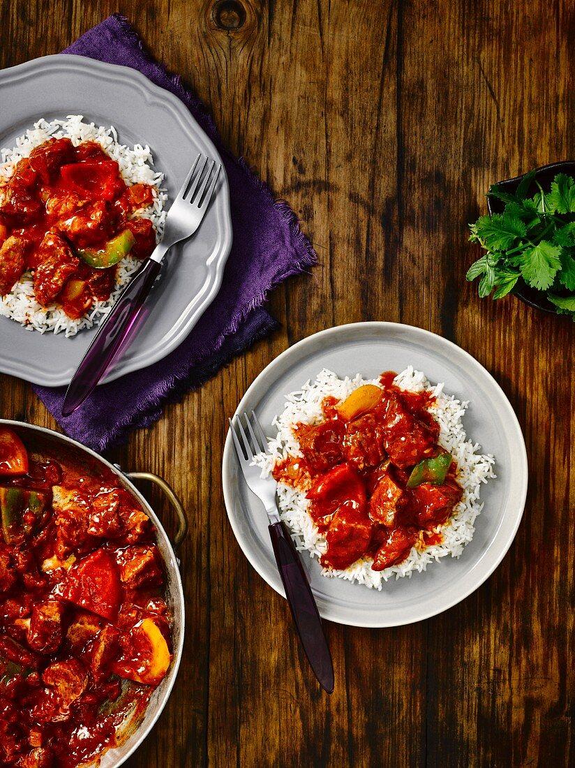India rogan josh curry