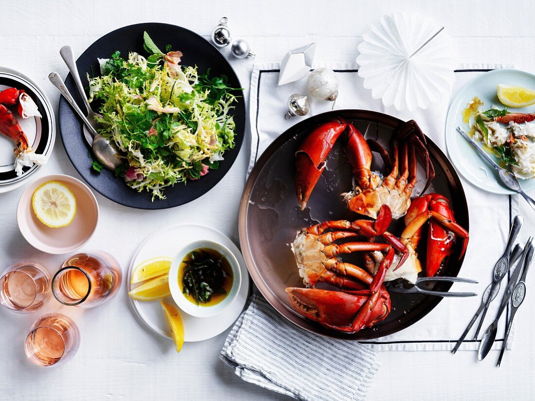 Mud crab with fragrant curry butter