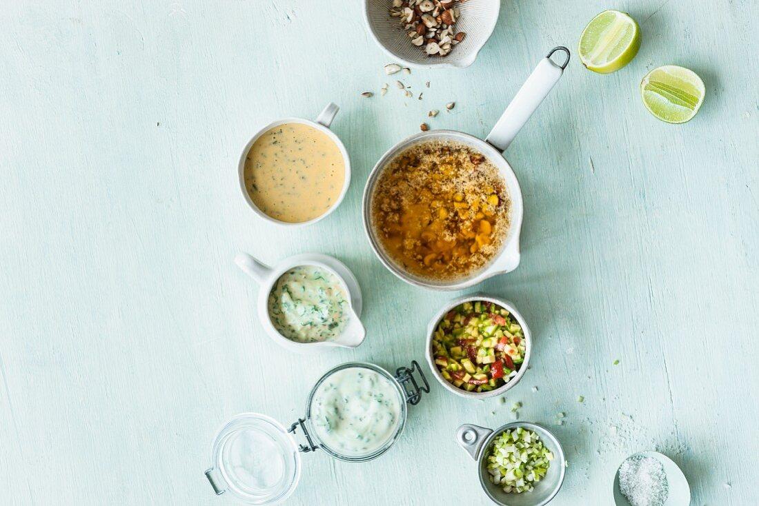 Five sauces for asparagus