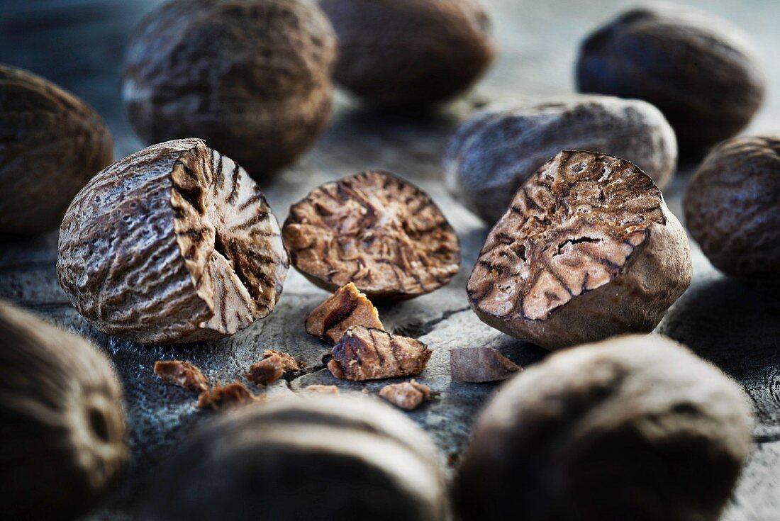 Nutmeg (close-up)