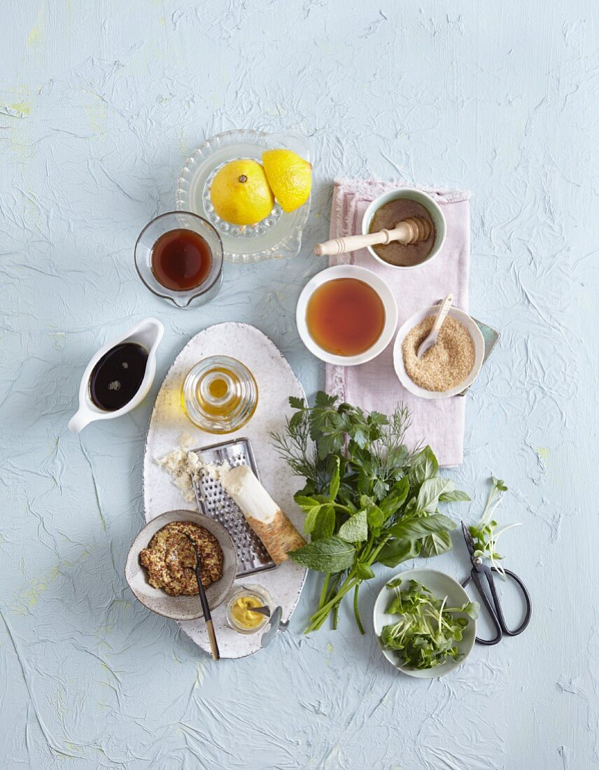 Dips and dressings for salads
