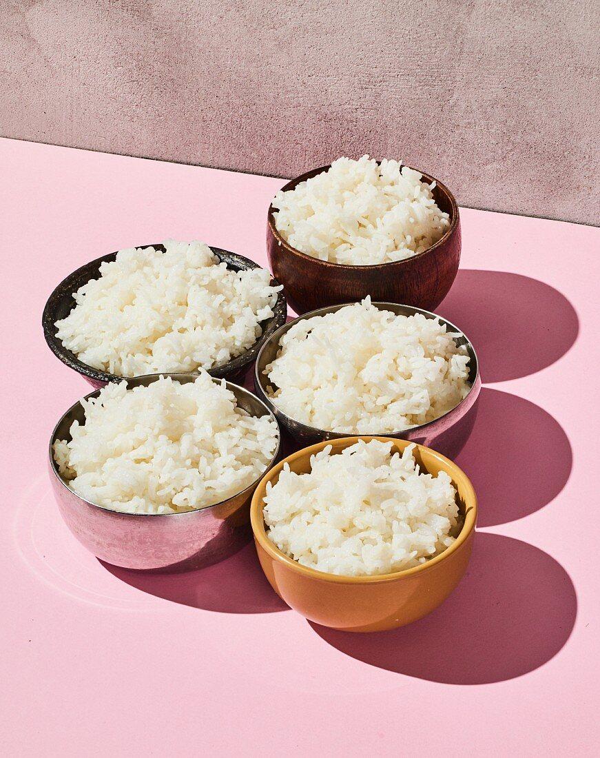 Gonggit-bap (basic recipe for rice, Korea)