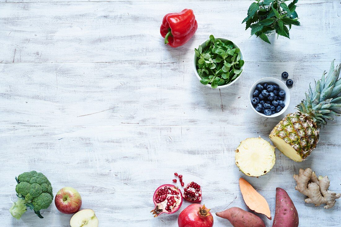 The top 10 rainbow foods