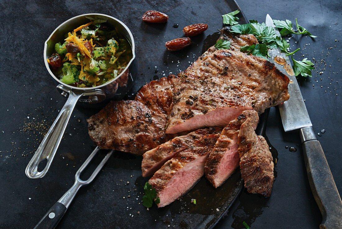 Grilled Secreto Ibérico pork