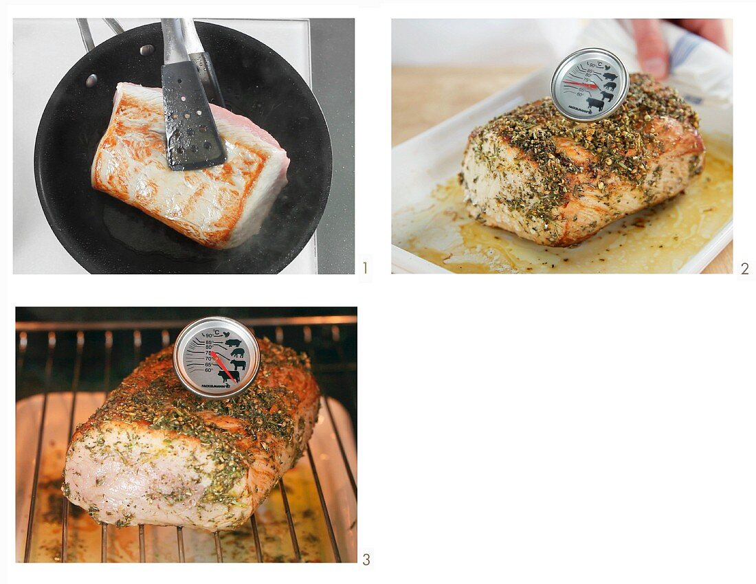 How to cook meat using the low temperature method