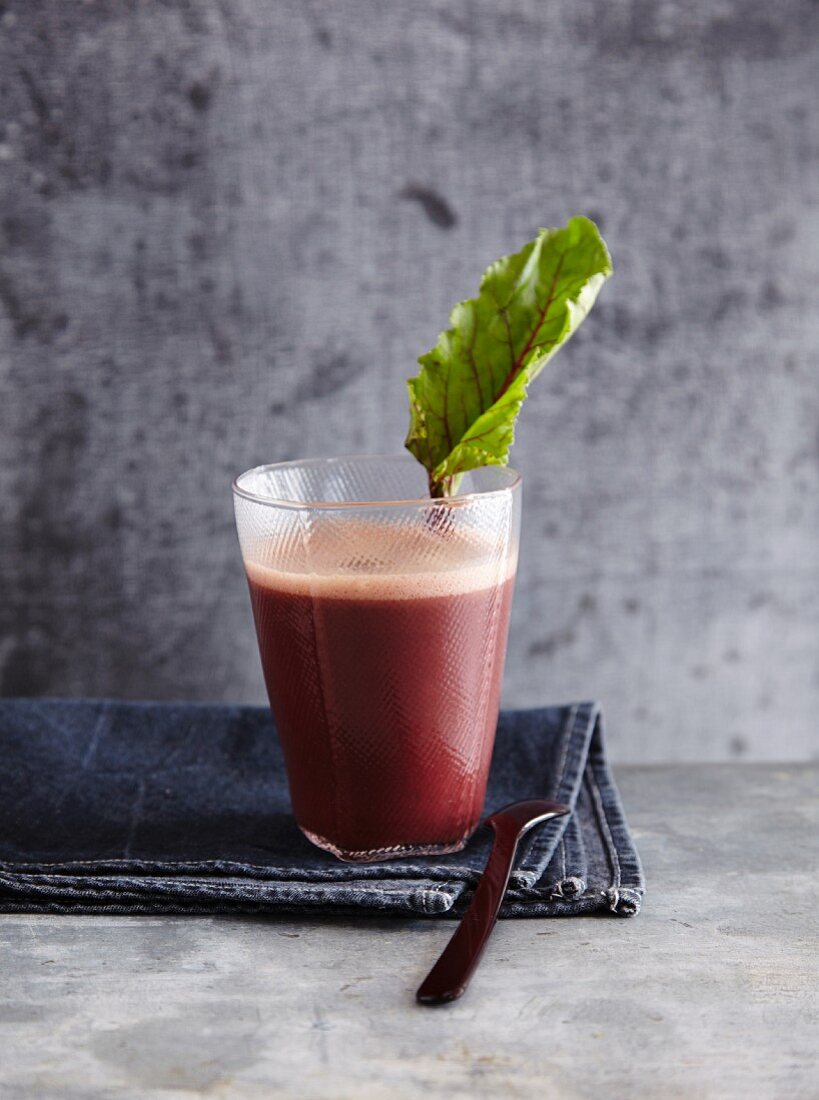 A beetroot smoothie - 'Indian Summer'