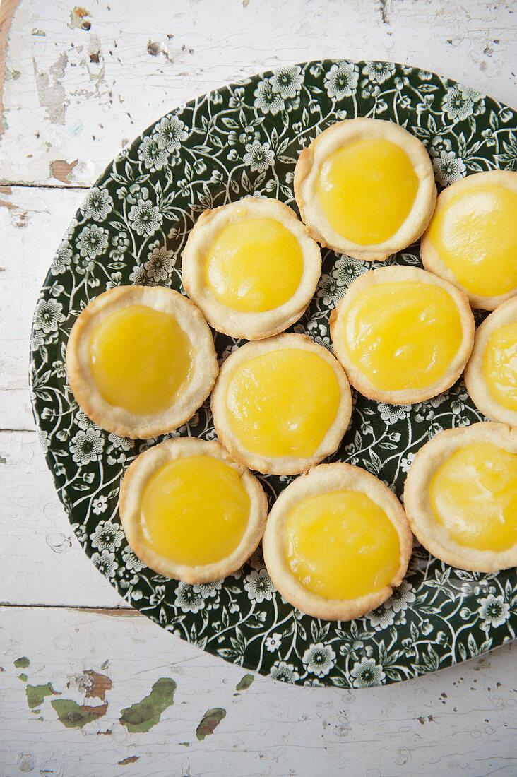 Lemon-Curd-Tartes
