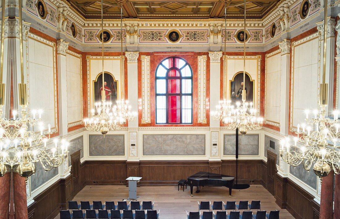 Auditorium of Rostock university, Germany