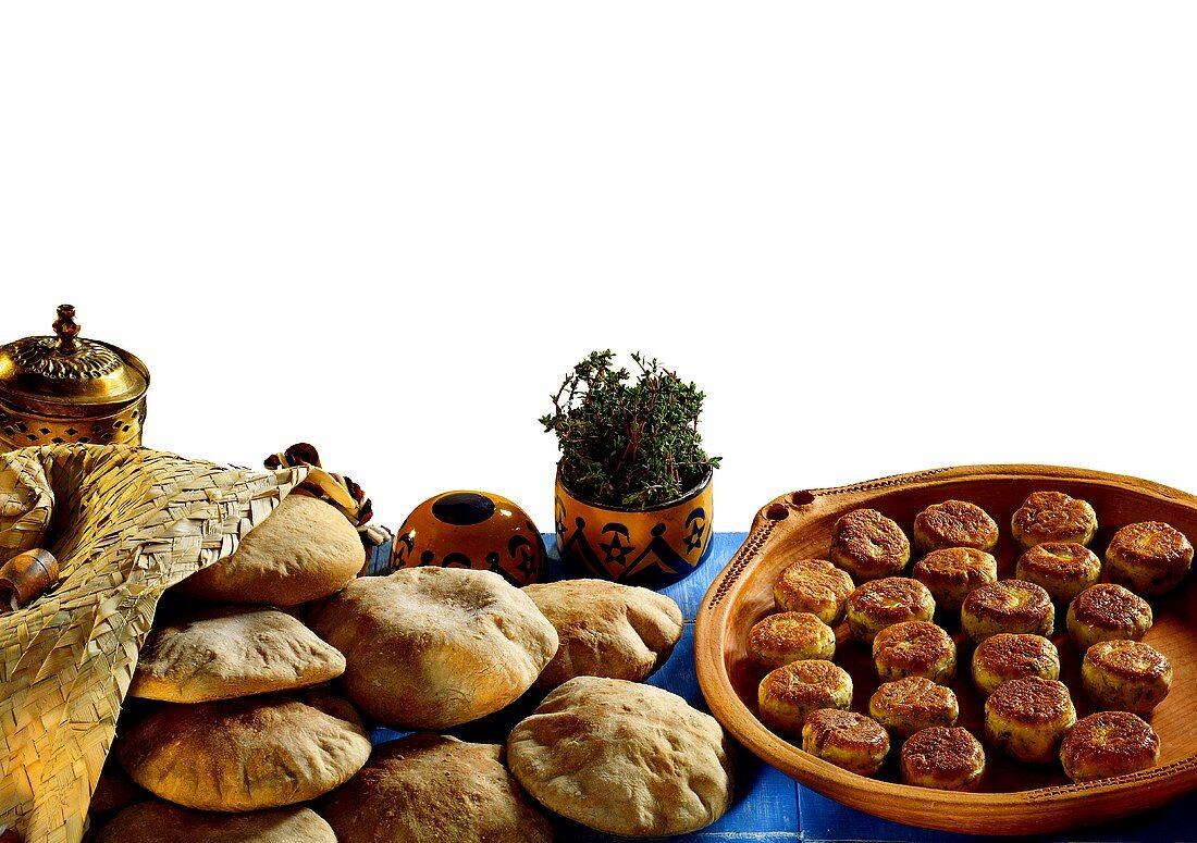 Arabic Rolls and Flat Bread