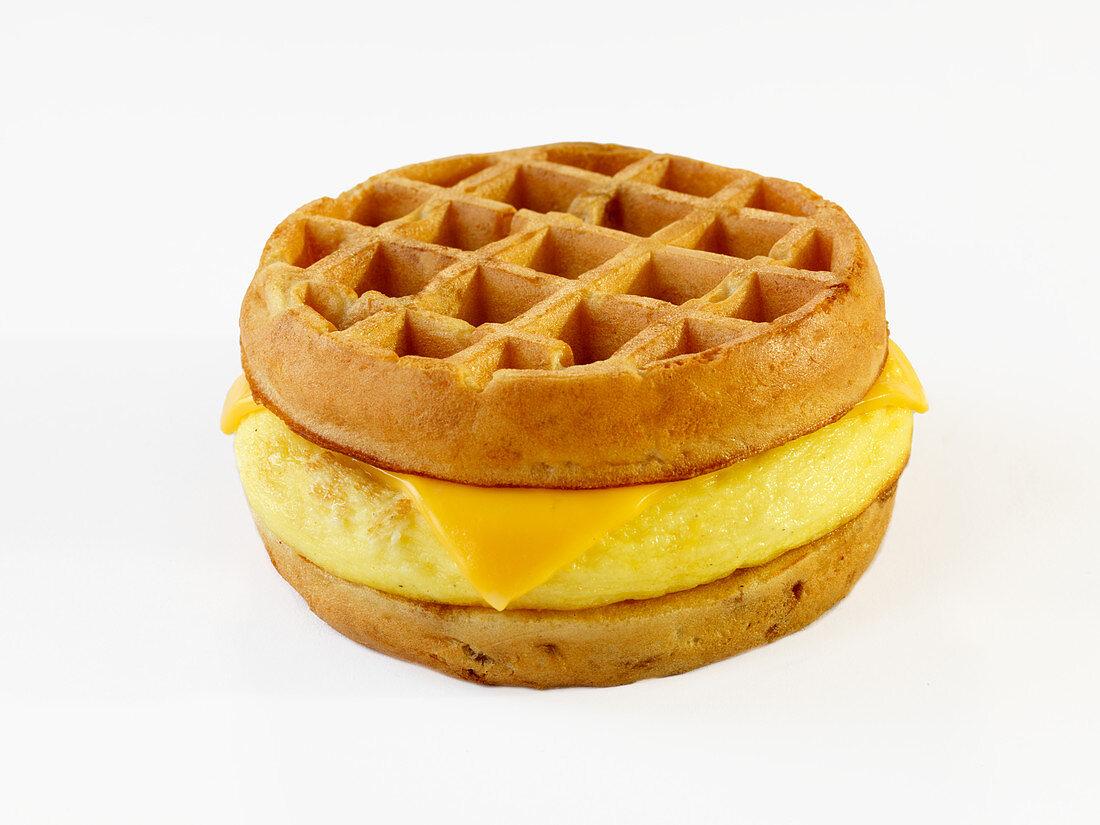 Kosher Waffle with Cheese