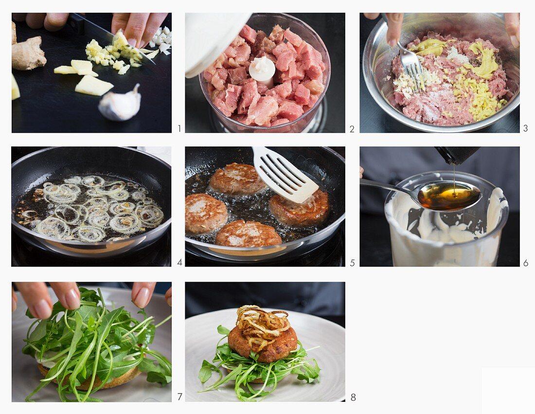 How to make a tuna burger