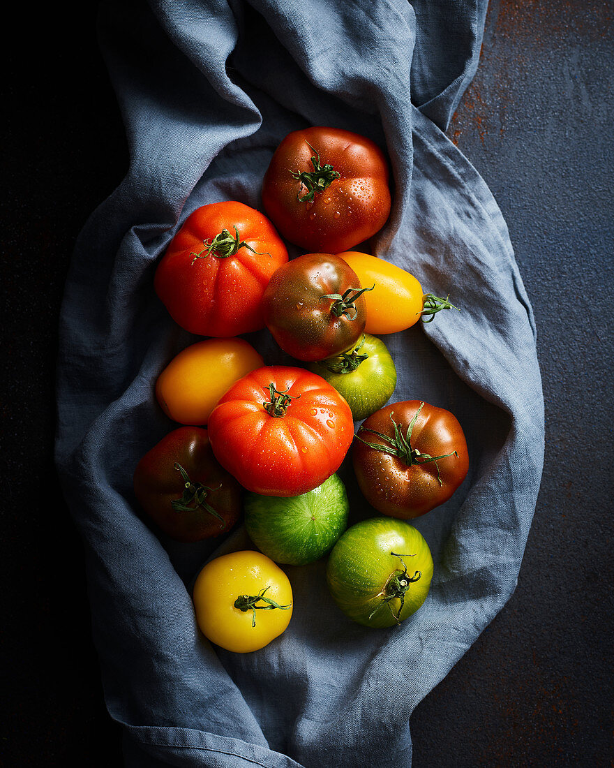 Mixed Heritage Tomatoes