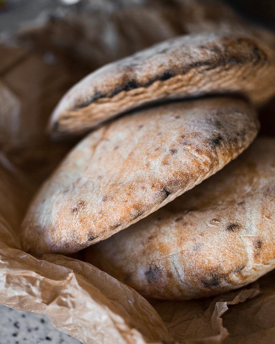 Mini balkan flatbread