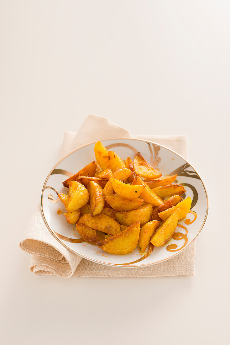 Paprika potato wedges