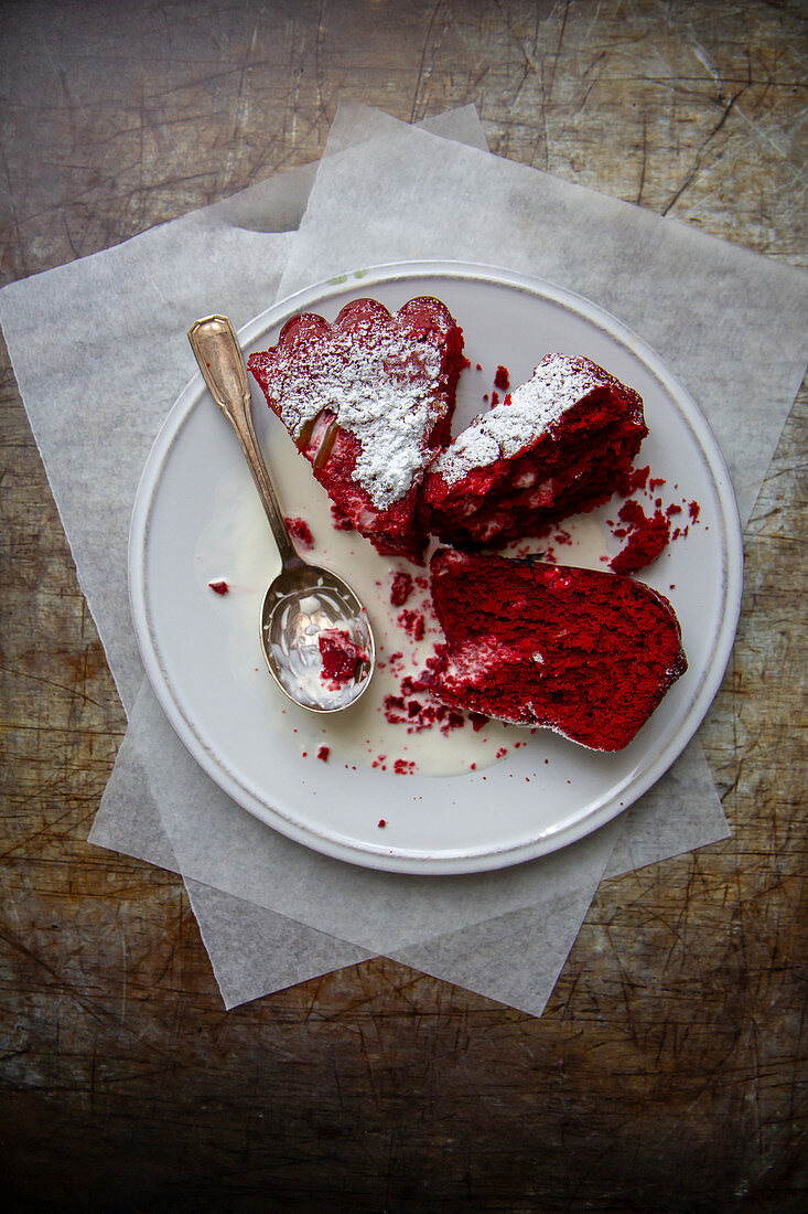 Red velvet cake (USA)