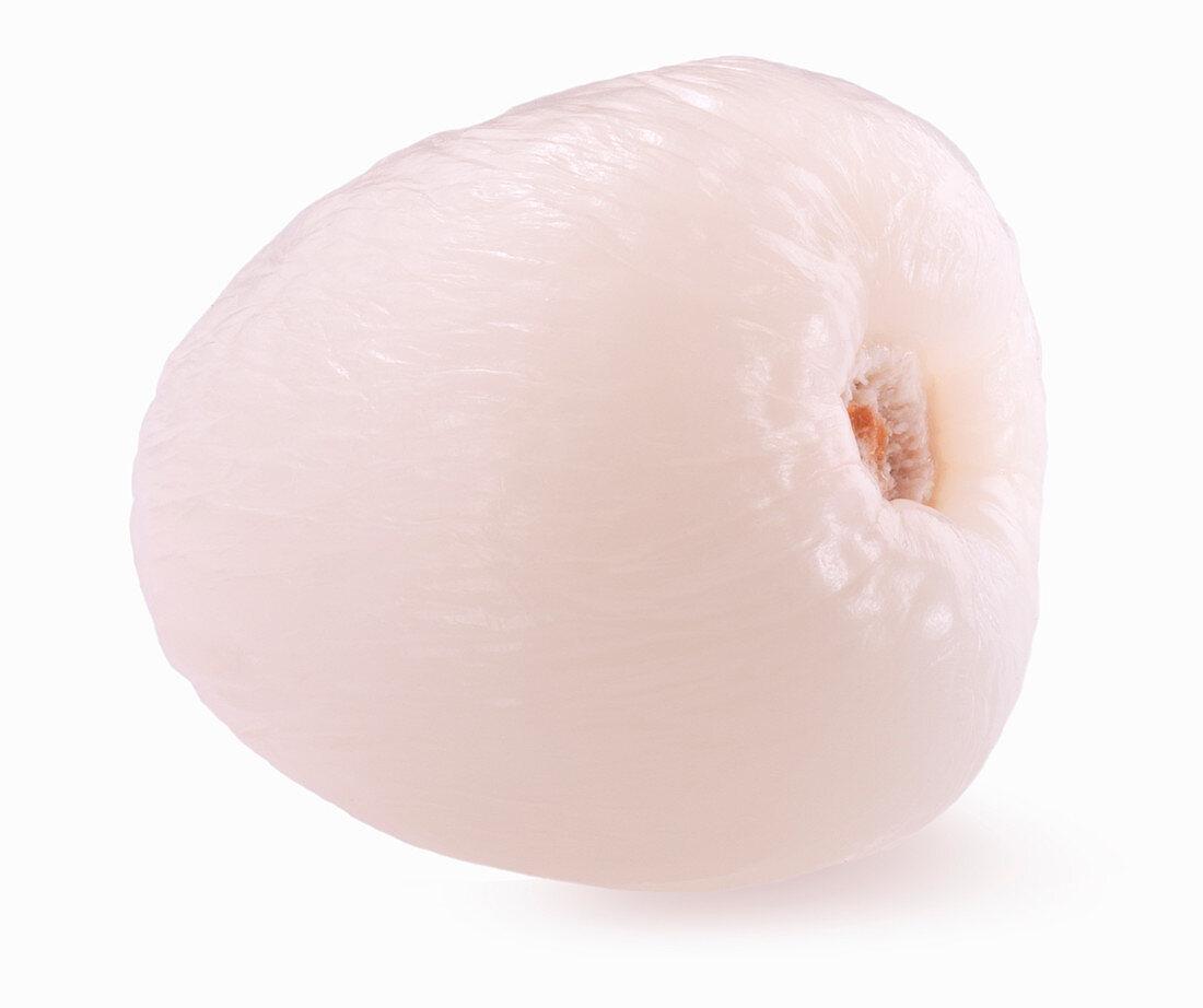 Peeled lychee