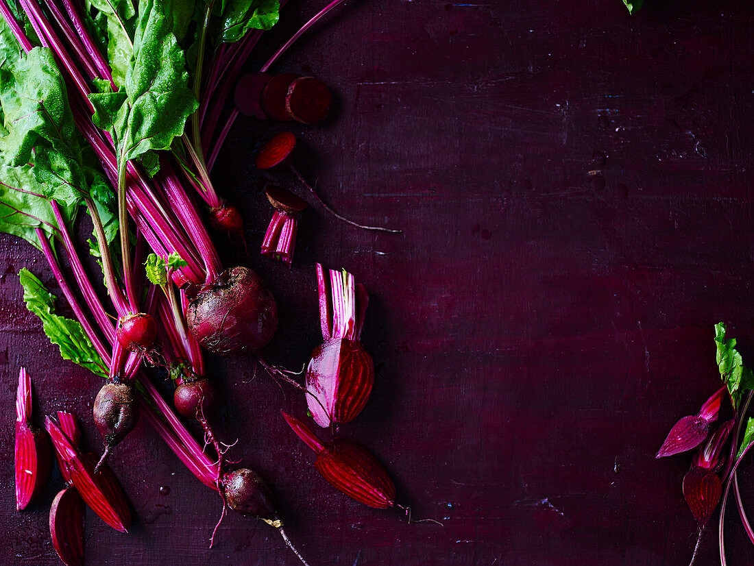 Eat Well Live Well - Purple