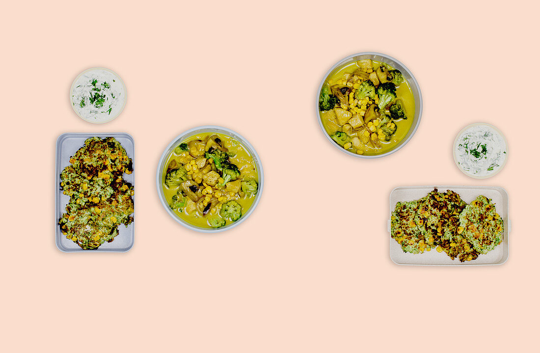 Broccoli dishes (meal prep)