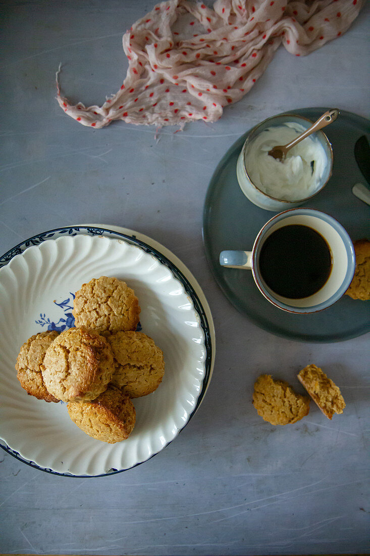 Honey scones