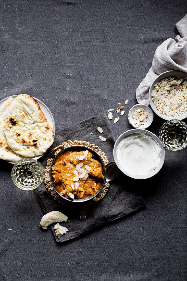 Mughalian Chicken Curry (India)