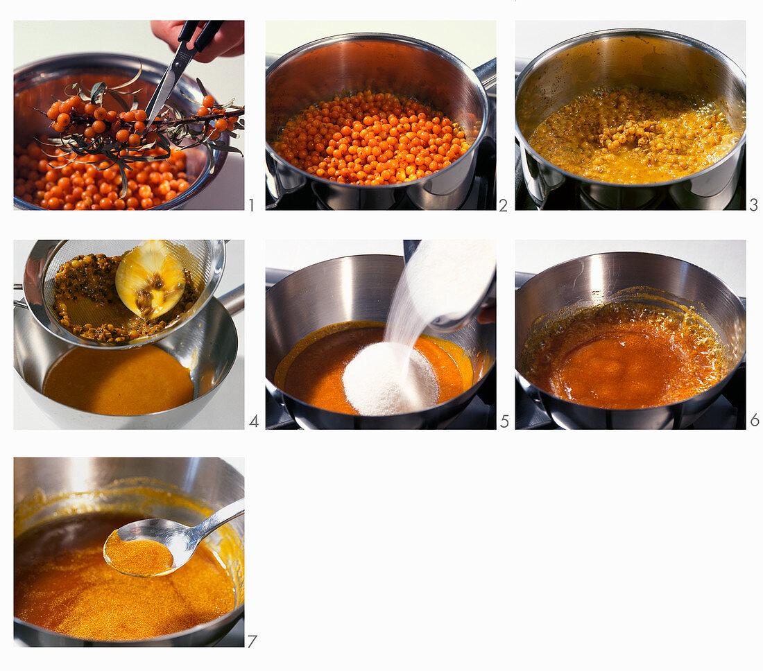 How to make sea buckthorn jam