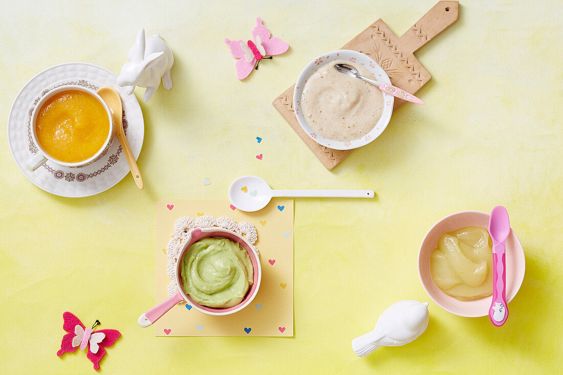 Fruit Puree for babies (6-9 Months)