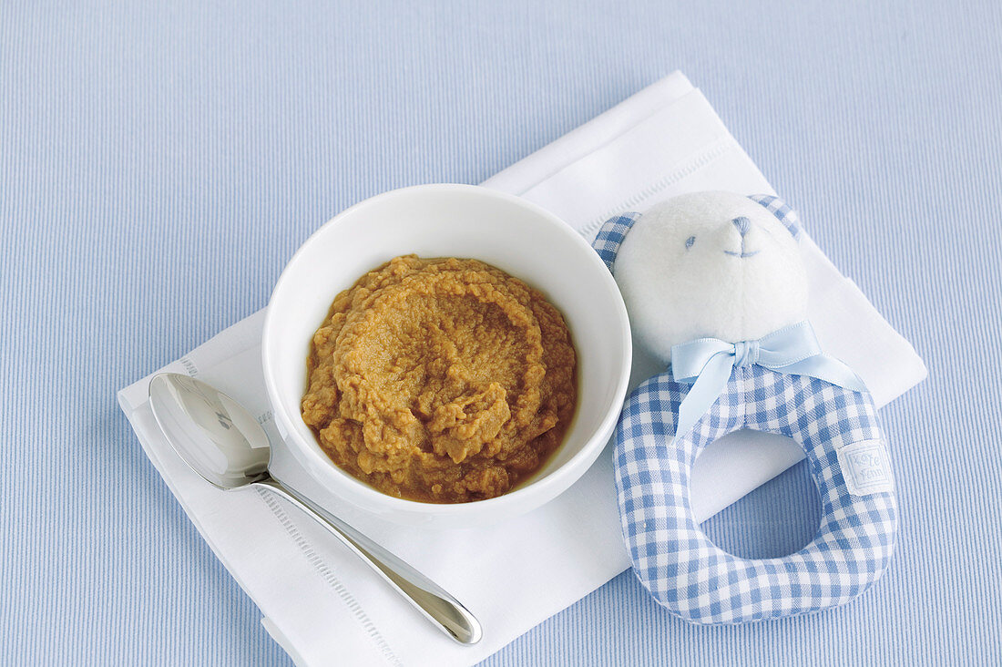 Beef, Carrot and Kumara Puree for babies (6-9 Months)